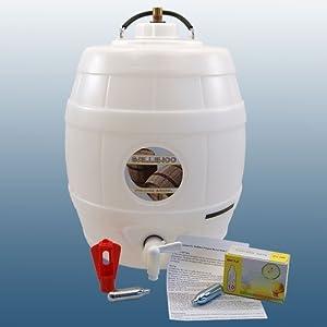 home brew balliihoo 5 gallon pressure barrel beer keg with full 8 gram co2 injection system. Black Bedroom Furniture Sets. Home Design Ideas