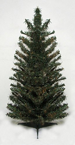Vickerman Unlit Canadian Pine Artificial Christmas Trees, 2'