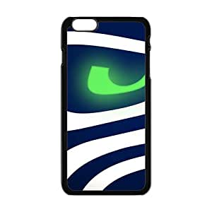 Black And Blue Cell Phone Case for Iphone 6 Plus