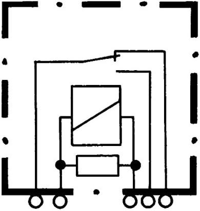 Hella 4rd 933 319 007 Relais Arbeitsstrom 12v 5 Polig Wechsler Auto