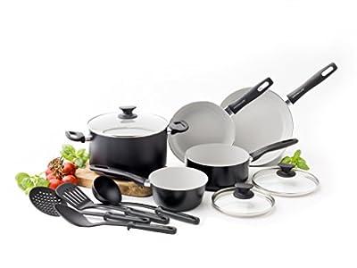GreenLife Everyday Value 12pc Ceramic Non-Stick Cookware Set