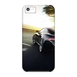 Cute Appearance Cover/tpu Jaguar Xk On Road Case For Iphone 5c