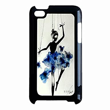 gracegul dance phone case for ipod touch 4th generation marionette
