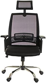 TimeOffice High-Back Mesh Desk Chair