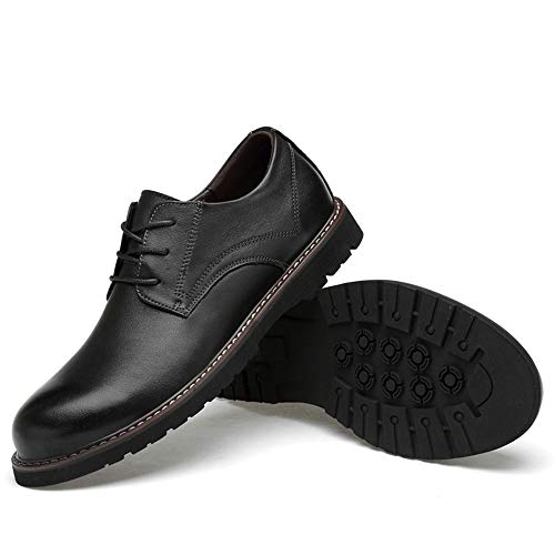 Scarpe Stringate EU uomo Color donna Marrone alla end shoes morbide moda d'affari high 2018 e per alta Basse da Xujw 36 Dimensione pelle Nero di Scarpe in oxford moda qAtEnpwg