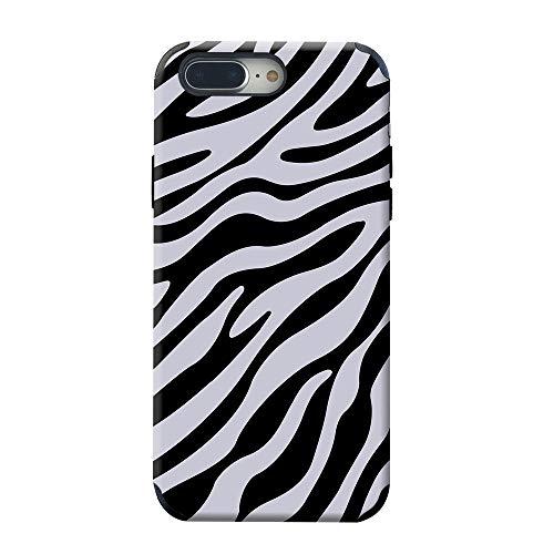 CUSTYPE iPhone 8 Plus Case, iPhone 7 Plus Case, Paint Protective Back Cover Case Zebra Pattern Design for iPhone 8/7 Plus 5.5