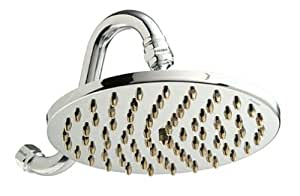 Pollenex DP1005 8-Inch Pouring Rain Showerhead, Chrome with Brass Tips