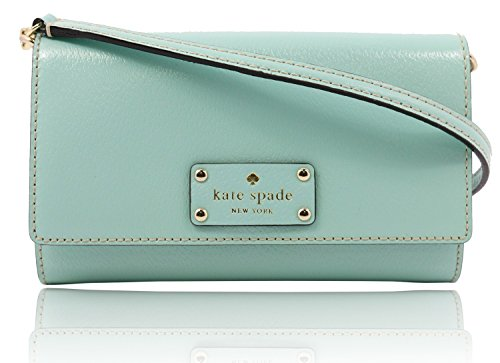 Kate Spade WKRU2722 Wellesley Natalie Cross Body Turquiose Handbag