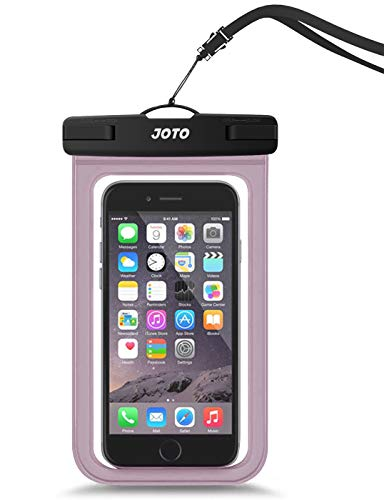 JOTO Universal Waterproof Pouch Cellphone Dry Bag Case for iPhone Xs Max XR XS X 8 7 6S Plus, Galaxy S9/S9 +/S8/S8 +/Note 8 6 5 4, Pixel 3 XL -
