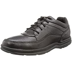 Rockport Men's World Tour Classic Walking Shoe,Black,10.5 M US