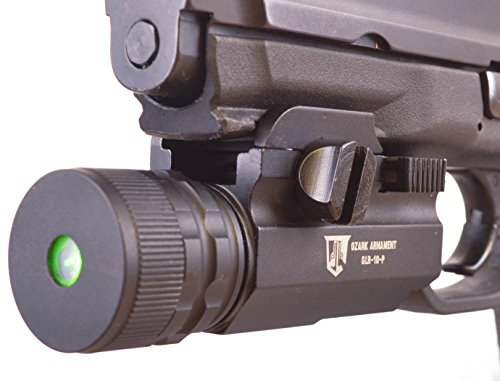 Green Laser Sight for Full Size Pistols by Ozark Armament
