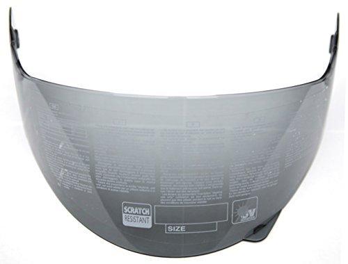 YEMA Helmet Visor Face Shield for YM-829 and YM-831, Smoked (Smoked Visor Motorcycle Helmet)