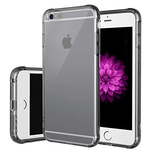 JanCalm Slim Clear Soft TPU Case for iPhone 6 and iPhone 6s, Soft Flexible Protective Cover Compatible for Apple iPhone 6/6S (Gray)