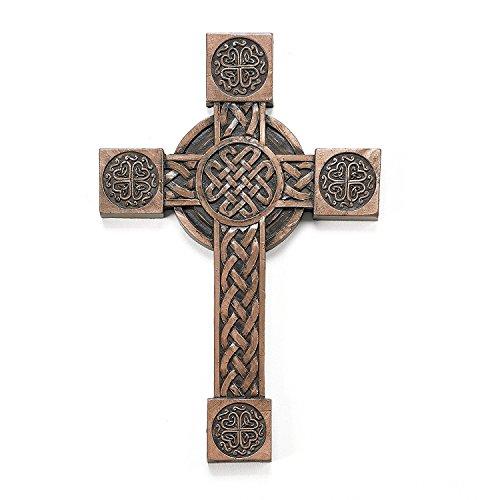 "Roman Inc. 8"" High Celtic Collection Cross Irish Blessings"