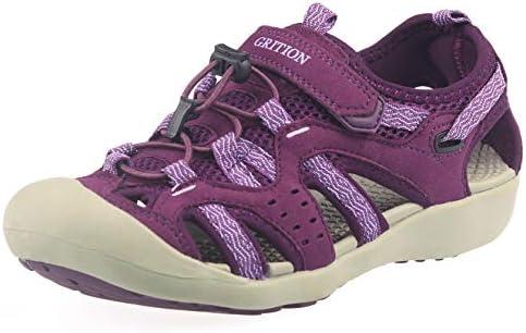 1856ea29c08ab GRITION Women Outdoor Hiking Sandals Summer Beach Sport Comfort ...