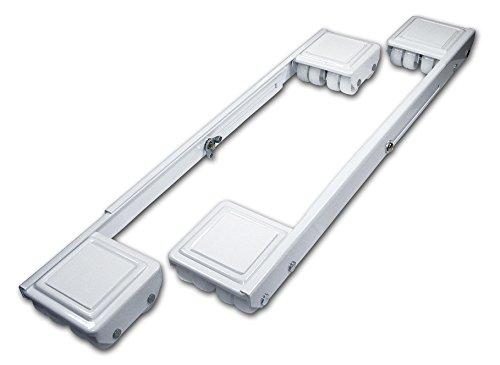(Richelieu Hardware F27652 Appliance Casters, White)
