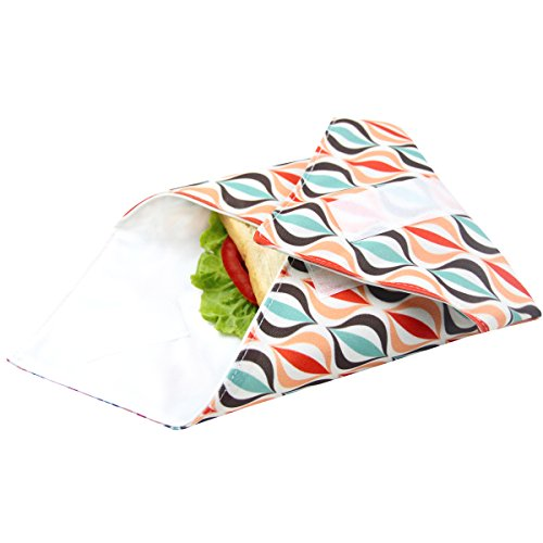 Reusable sandwich wrap