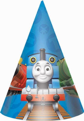 Thomas and Friends Party Hats (8ct)