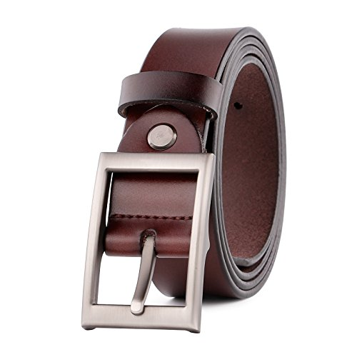 JASGOOD Fashion Genuine Leather Buckle
