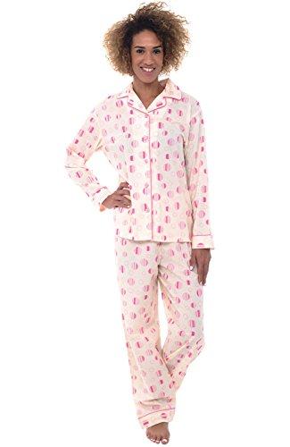 Alexander Del Rossa Womens Pajamas