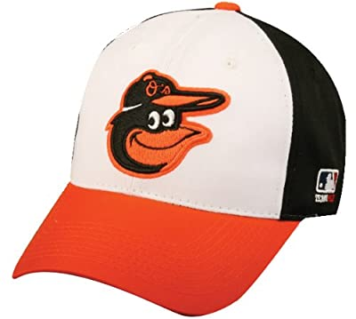 New 2012 Baltimore Orioles Officially Licensed MLB Adjustable Velcro Adult Size Baseball Cap by OC Sports - Outdoor Cap Co