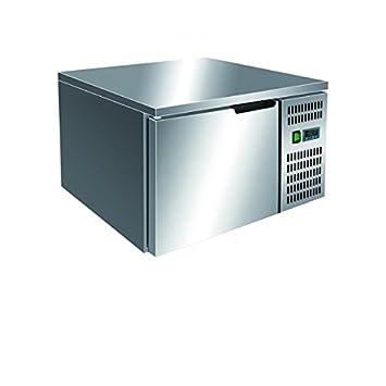 abbattitore surgelatore de temperatura 3 bandejas GN 2/3. Temp. + 70 °