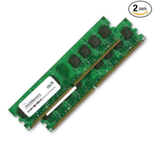 Amazon.com: Memoria RAM de 2 GB Kit (2 x 1 GB) para el dell ...