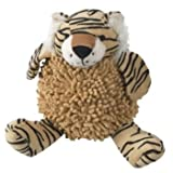 Petrageous Designs Tan w/ Stripes Chenille Tiger Dog Toy – Tad