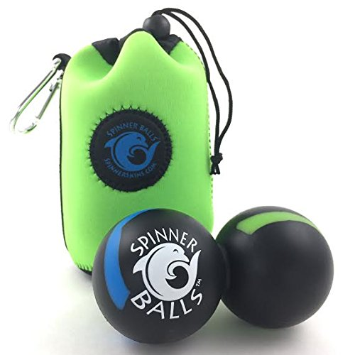 SPINNER BALLS-Therapy Massage Ball-Double Lacrosse Mobili...