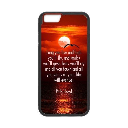 Pink Floyd 005 coque iPhone 6 Plus 5.5 Inch Housse téléphone Noir de couverture de cas coque EEEXLKNBC18328