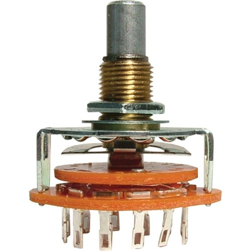 Switch - Rotary, 1 Pole, 12 Positions, ¼