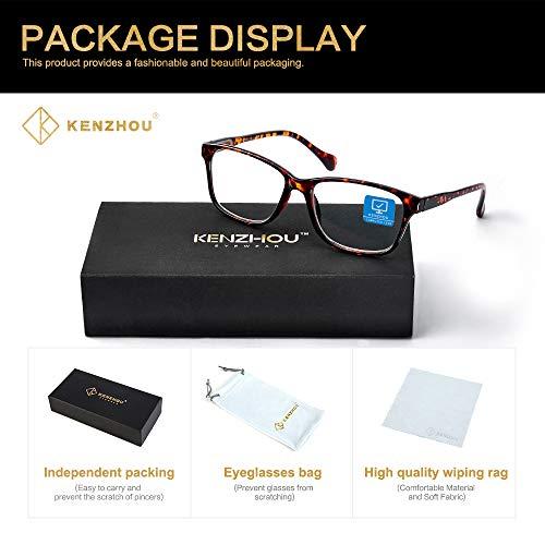 Blue Light Blocking Glasses/Blue Light Glasses 2 Pack for Women /Men Computer Reading/Gaming/TV/Phones Glasses,Anti Eyestrain & UV Glare