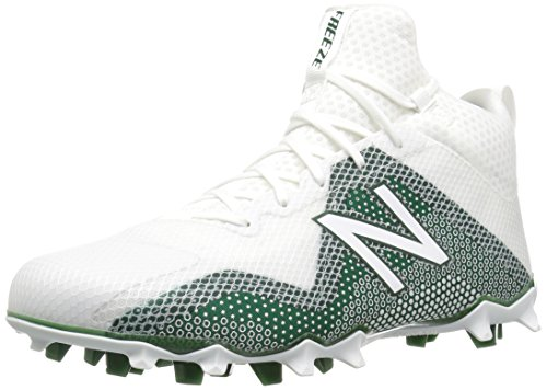New Balance Men's Freeze v1 Agility Lacrosse Shoe, Green, 8.5 2E US