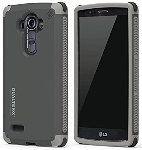 LG G Stylo Case, PureGear Dualtek Extreme Rugged Cover [Matte Black] Military Tested Cover for LG G Stylo (LS770, MS631), LG G Vista-2 (H740), LG G4 Stylus (H631, H634, H635)