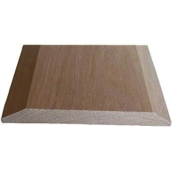 626af123732 Solid Red Oak Interior Threshold - Style A (6 1 2