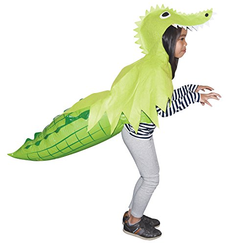 Sunstar Industries Alligator Hoodie With Inflatable Tail One-Size -