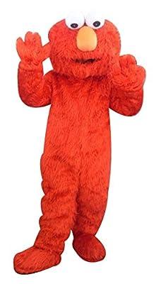 Adult Red Elmo Mascot Costume Cartoon Costume