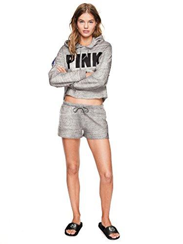 Vs Rosa Victorias Secret Pink Nytt! Tvers Over Glide Rent Svart Stor Nwt