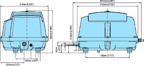 MEDO LA-80BN Piston Air Pump by Medo (Image #4)