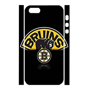 Charm Hockey Team Logo Antiproof Hard Plastic Phone Cover Skin For Iphone 5/5S Case Cover