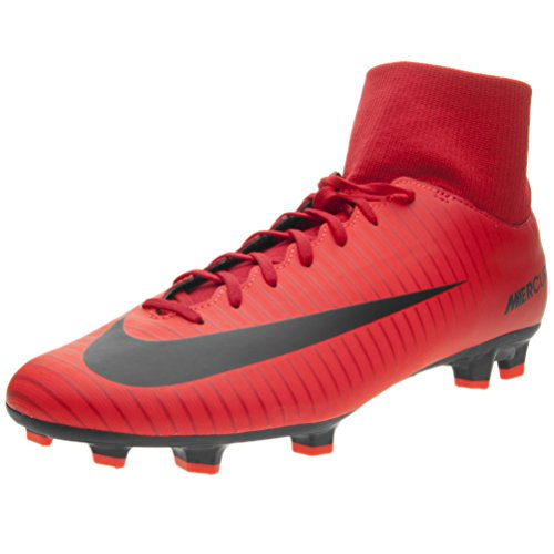 Mercurial brigh University Football Nike Fg Victory Homme Vi Chaussures De Red black Df 7pwpqxnd