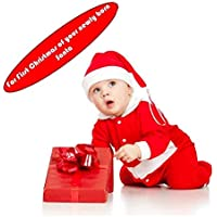 Santa Claus Dress Costume for Boys Girls Kids (0-12 Months) by Weigel and Fox