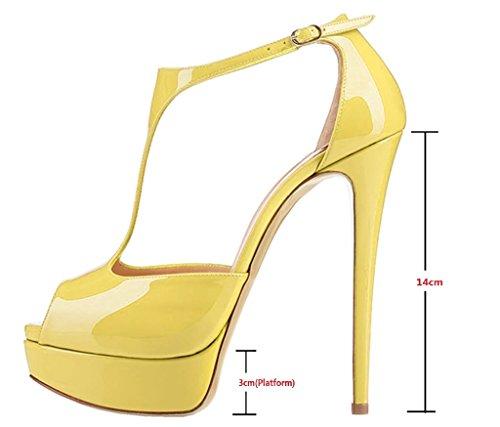 EDEFS - Cierre En T Mujer amarillo