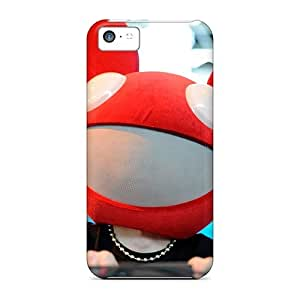 5c Scratch-proof Protection Case Cover For Iphone/ Hot Deadmau5 Spinning Phone Case