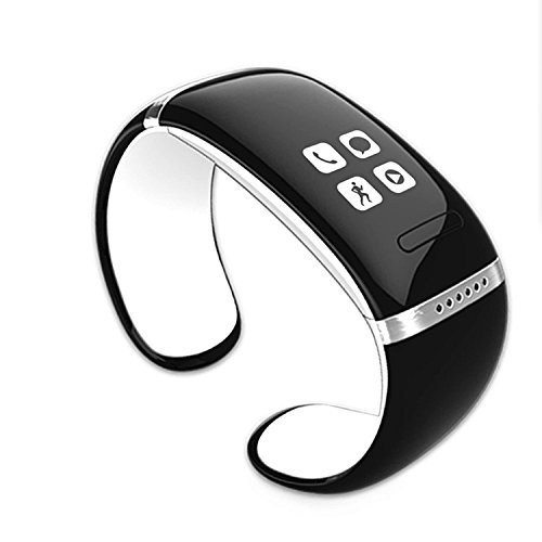 Komiro L12S White Bluetooth Smart Bracelet Watch with Pedometer for Iphone and Android Phone
