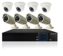 Bellatek 16Ch 8Cam 720P 2TB Super 3-in-1 HD Analog Security System, supports AHD/Analog/IP Camera video input.