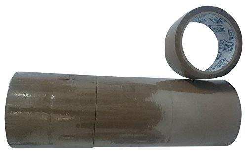 Gripwell 12BRM50 BOPP Self Adhesive Tape, 50 Meter