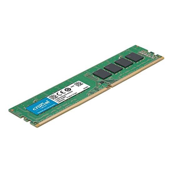 Crucial 32GB Kit (16GBx2) DDR4 2666 MT/s (PC4-21300) DR x8 DIMM 288-Pin Memory - CT2K16G4DFD8266 41WVZD70 3L. SS555