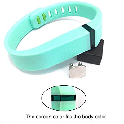 2015 Latest Band Set For Fitbit Flex, Newest Layout, Metal Clasps for Fitbit Flex Activity Tracker/ Wireless Activity+Sleep Wristband/ Sport Bracelet/ Sport Armband(Large)