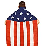 Aguila American Flag Cape For Sale